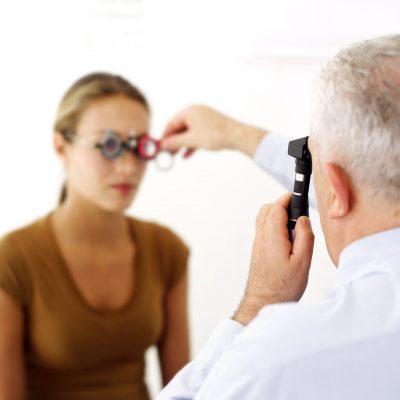 Eye doctor in Alexandria